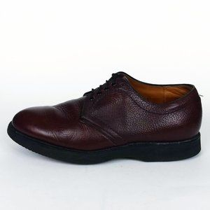 Alden Brown Leather Oxford Shoes Size 10 EE